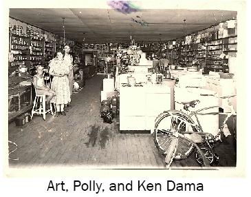 Polly and Ken Dama